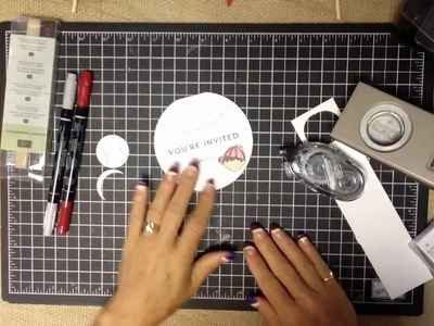 PLAY BALL - DIY Baseball Party Projects with Stampin' UP! Dear Heart