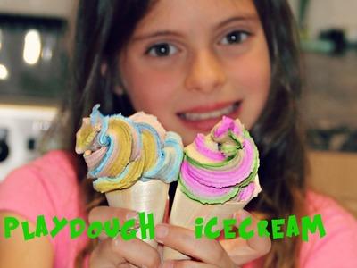 Playdough Ice-cream -DIY