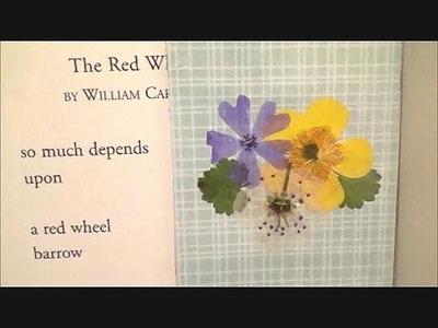 Pressed Flower Bookmark Tutorial! ♥