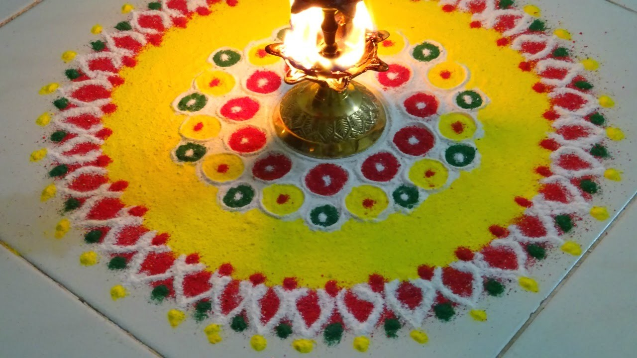 Rangoli for Diwali Diy