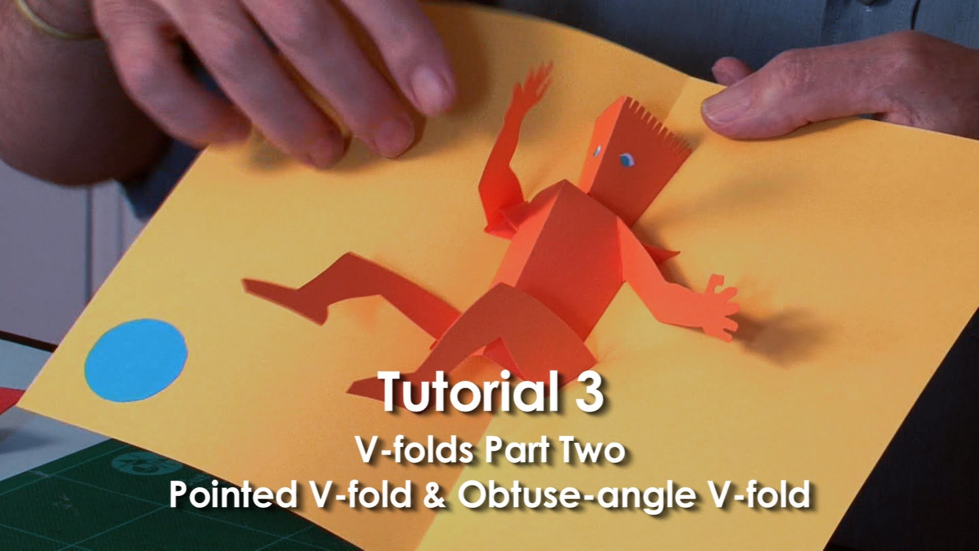 Tutorial 3 - V-folds Part 2 Pointed V-fold & Obtuse-angle V-fold