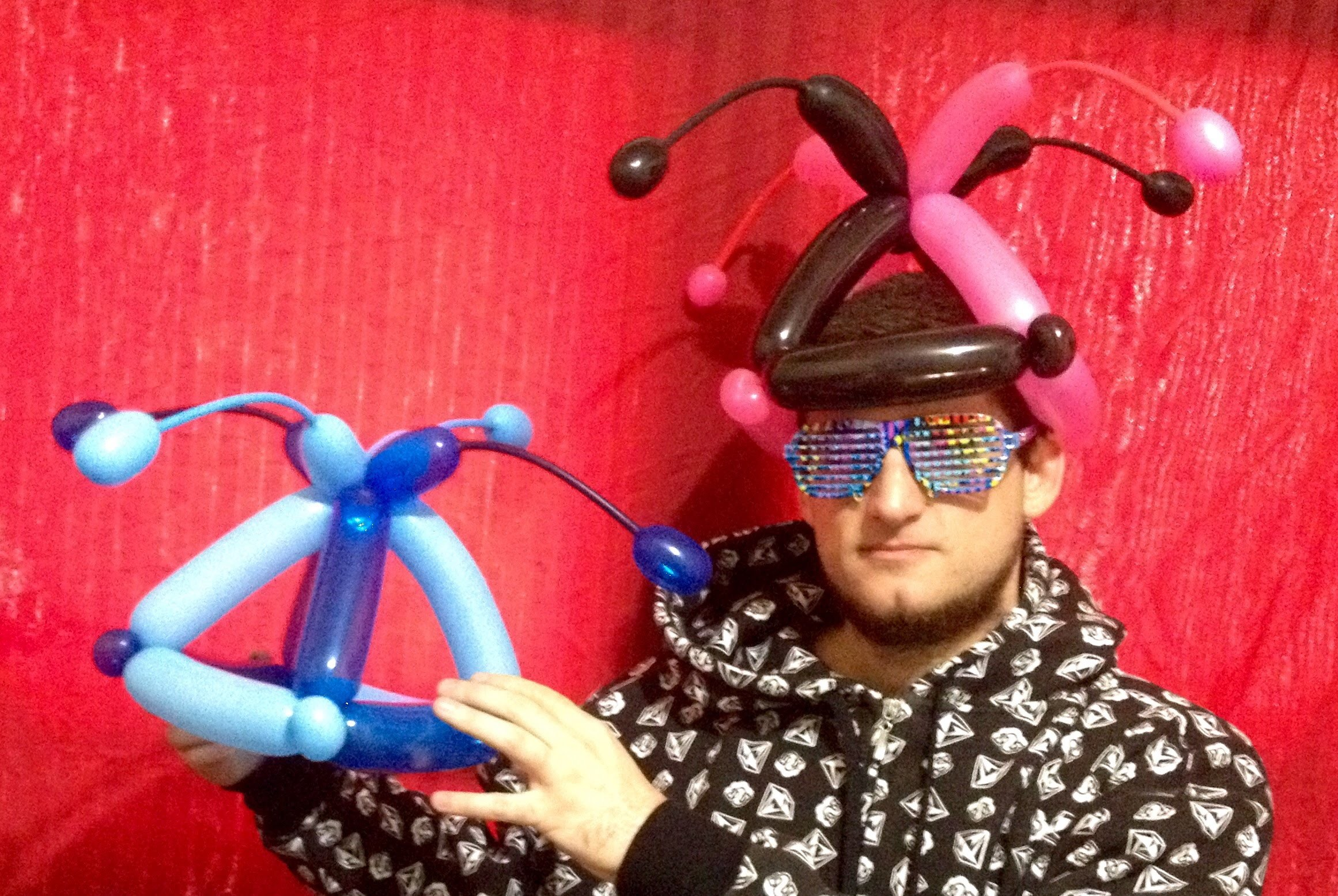 Awesome Easy Balloon Jester Hat Tutorial