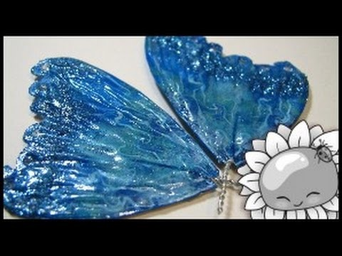 Chibitude Update! Making Wings Without Liquid Clay. Tutorial #4