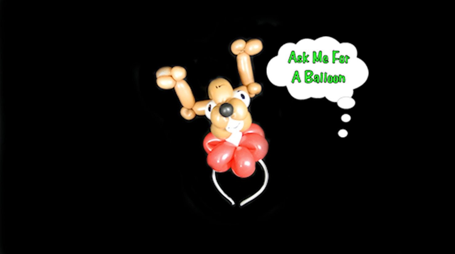 Christmas Balloon Deer Headband Tutorial