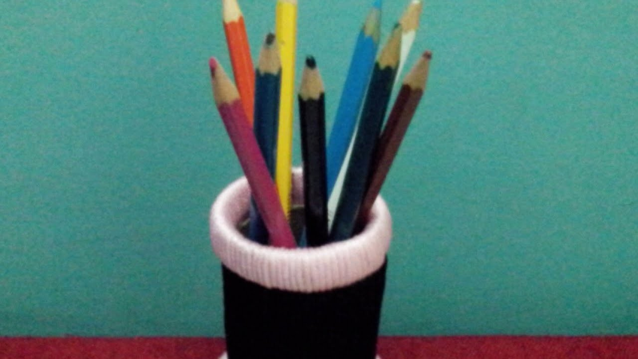 Construct a Cool Bangle Pencil Holder - DIY Home - Guidecentral