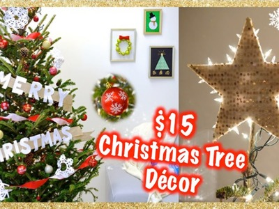 ❆ Decorate Your Entire Tree For Only $15! - DIY ❆