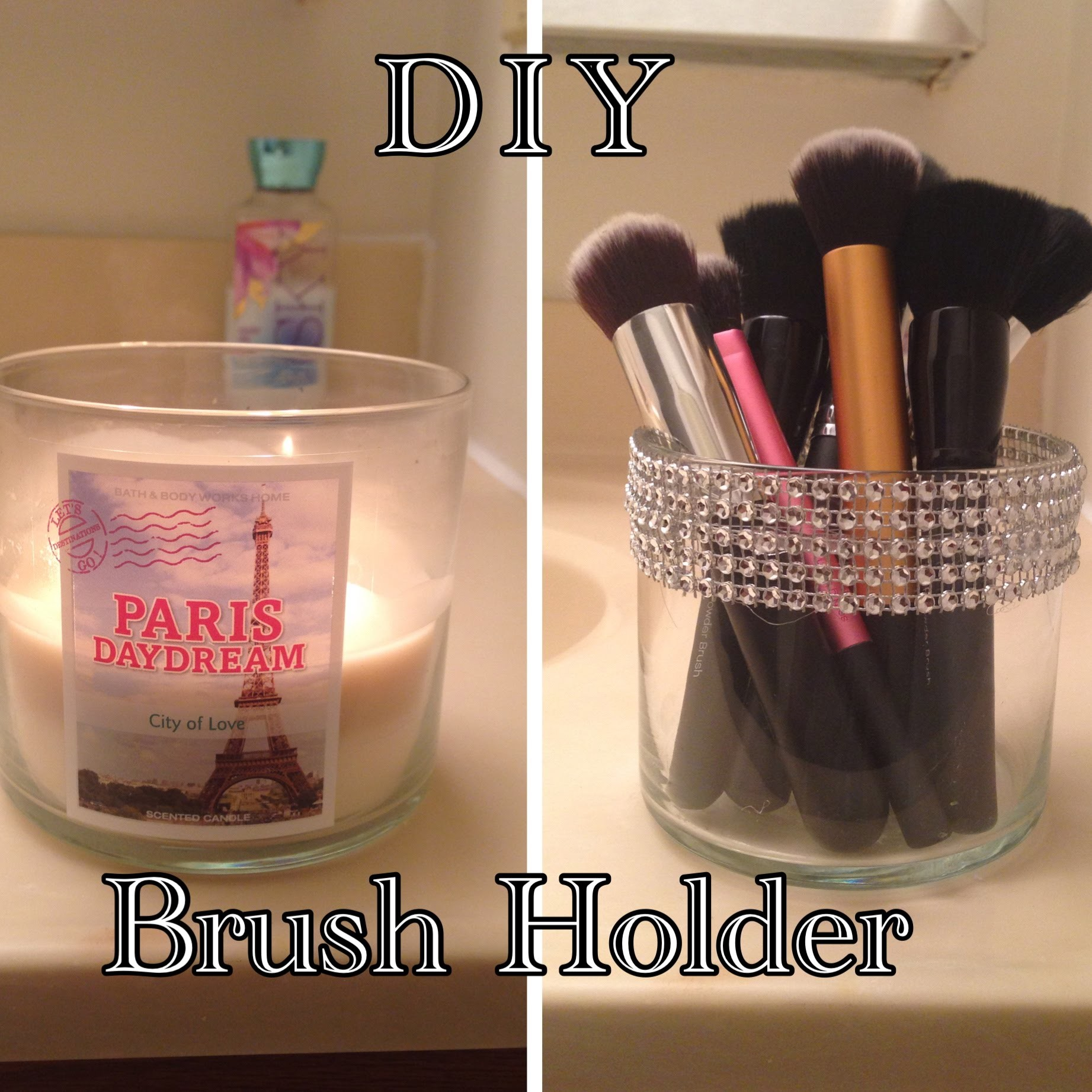 DIY Brush Holder