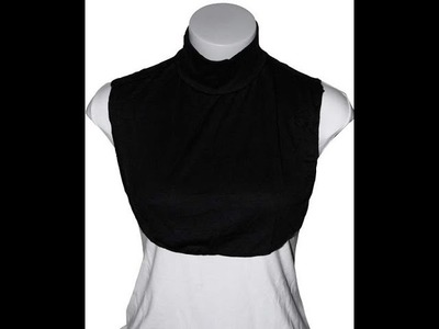 DIY: Simple  Neck Coverup. Coverage