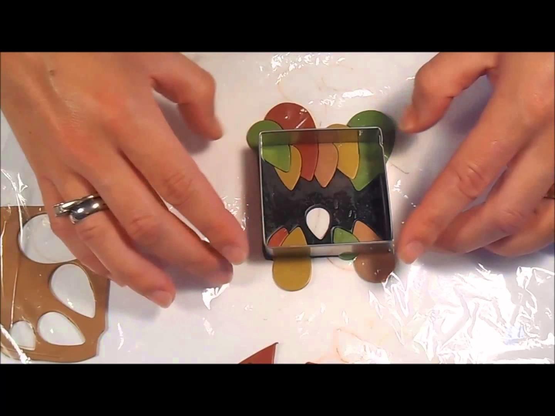 FREE Leaf Batik Pendant Tutorial