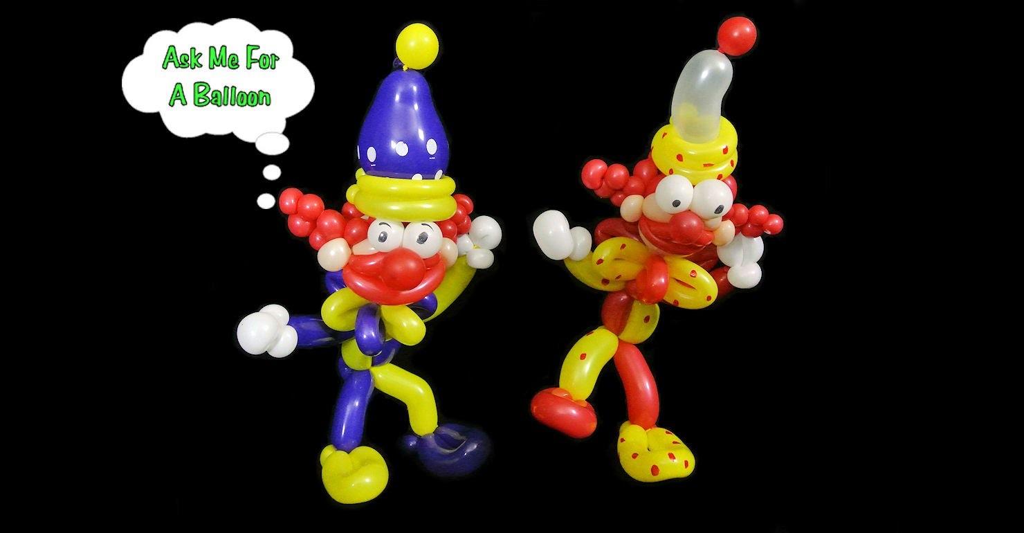 How To Make Clown Balloon Animal - Balloon Twisting Tutorial