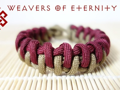 How to Tie a Fish Bone Zipper Bar Bracelet Tutorial
