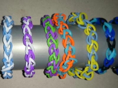 Loom bracelet tutorial EASY for beginner
