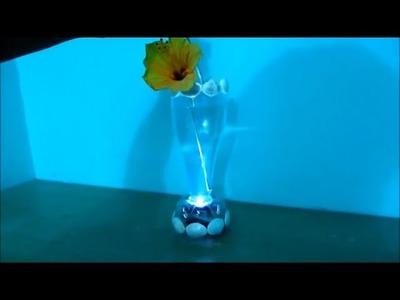 Membuat Lampu Hias dari botol plastik - Tutorial Decoration