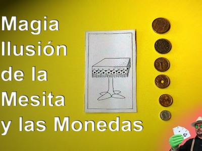 Mini Tutorial: La Ilusión del Velador & Monedas REVELADO (Tutorial: The Illusion of Pedestal Table )