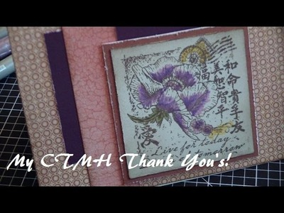 My CTMH Feb.March Thank You's & March Promos! (Tutorial)