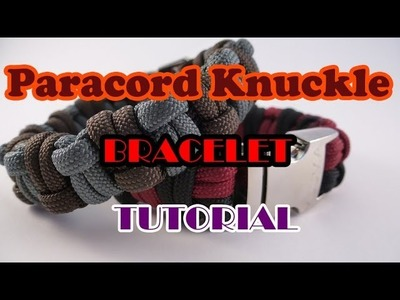 Paracord Knuckle Bracelet Tutorial