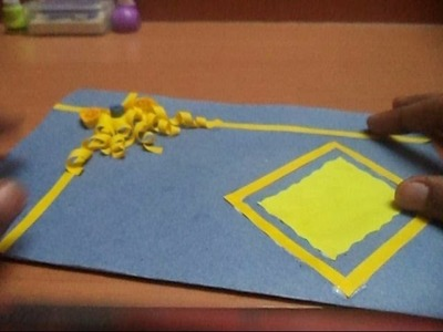 Quilling card tutorial :