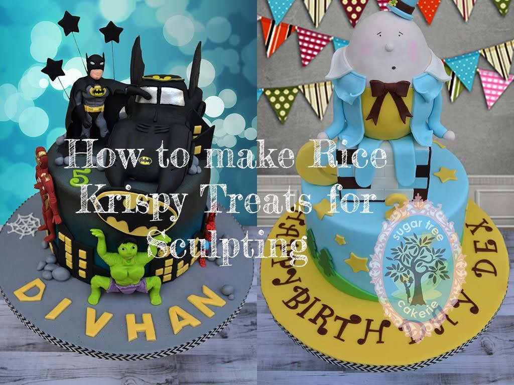 Rice krispies treats tutorial