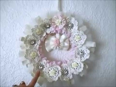 Shabby Chic Wreath Talk Through tutorial- jennings644