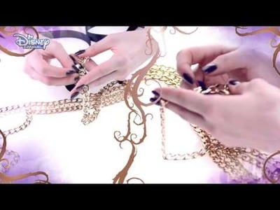 Sofia Carson Accessorised Chain Belt Tutorial