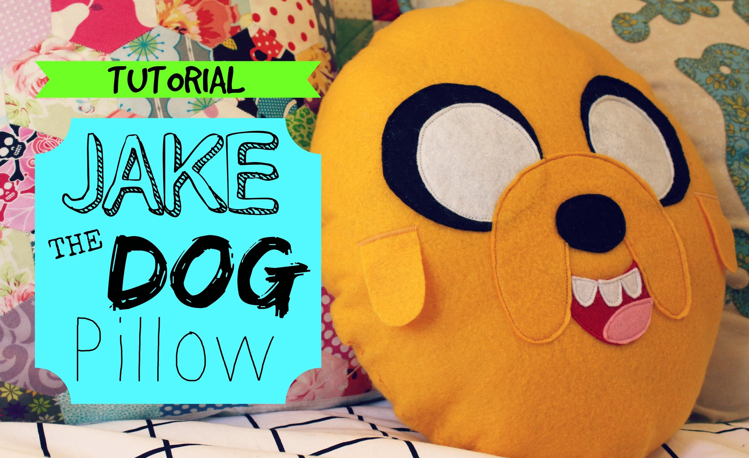TUTORIAL: Jake The Dog Pillow