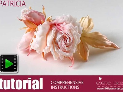Video tutorial Silk Rose Patricia
