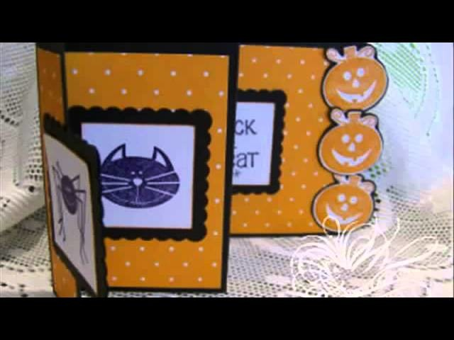 1 min tutorial Accordion Flip Card & 2013 Calendar mov