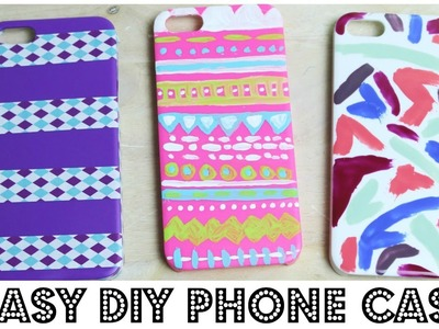 3 Easy DIY Phone Cases