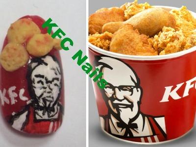 3D KFC Nail Tutorial~~