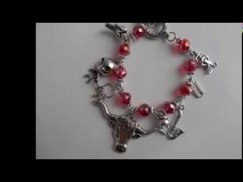 American Horror Story Inspired Charm Bracelet Tutorial DAY 2