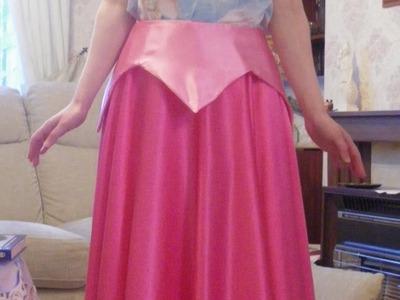 Aurora Sleeping Beauty Skirt & Peplum Tutorial