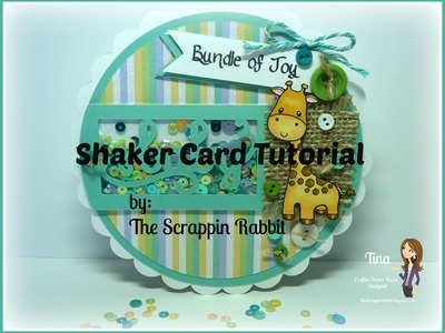 Baby Shower Shaker Card Tutorial