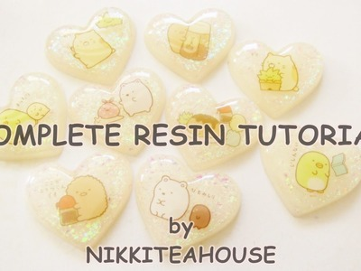 Basic Resin Tutorial ~ Silicone Heart Mold Demo