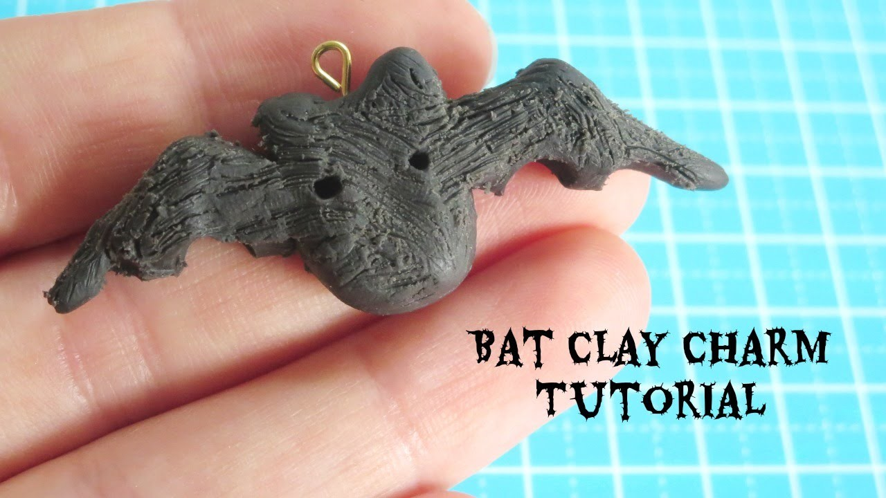 Bat Clay Charm Tutorial