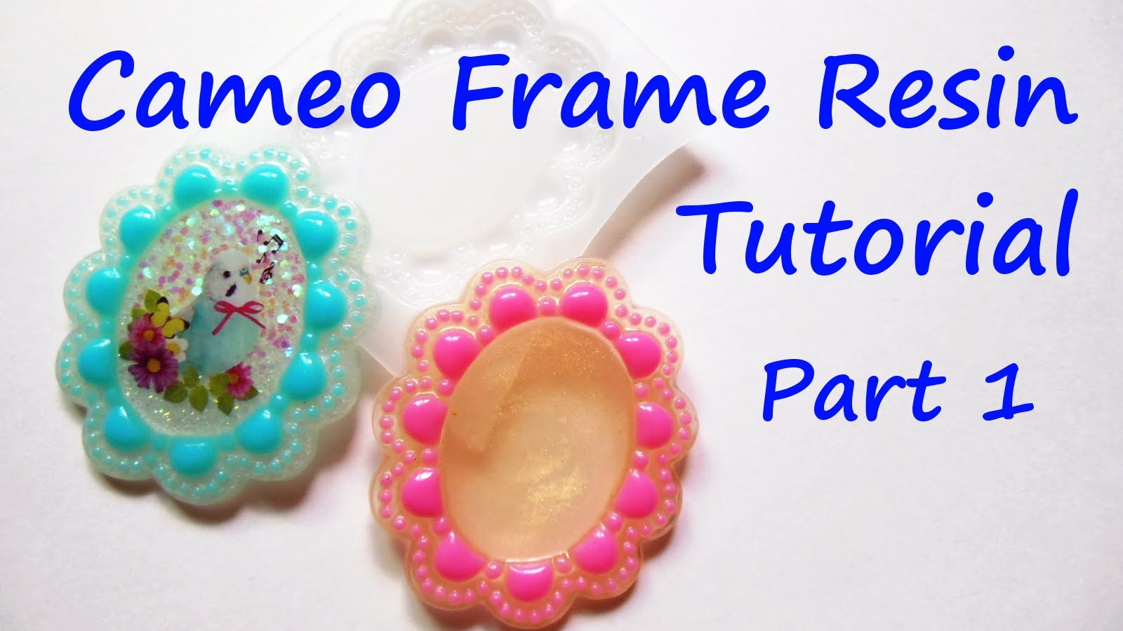 Cameo Frame Resin Tutorial Part 1