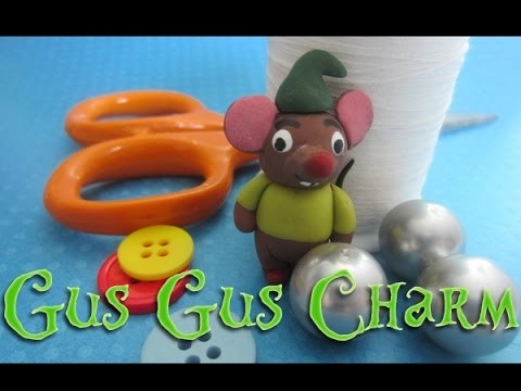 Cinderella Inspired Gus Gus Charm Tutorial