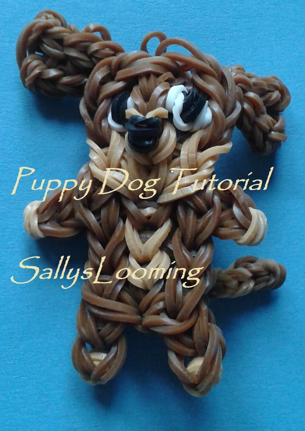 Cute Puppy Dog Charm Loom Band Tutorial