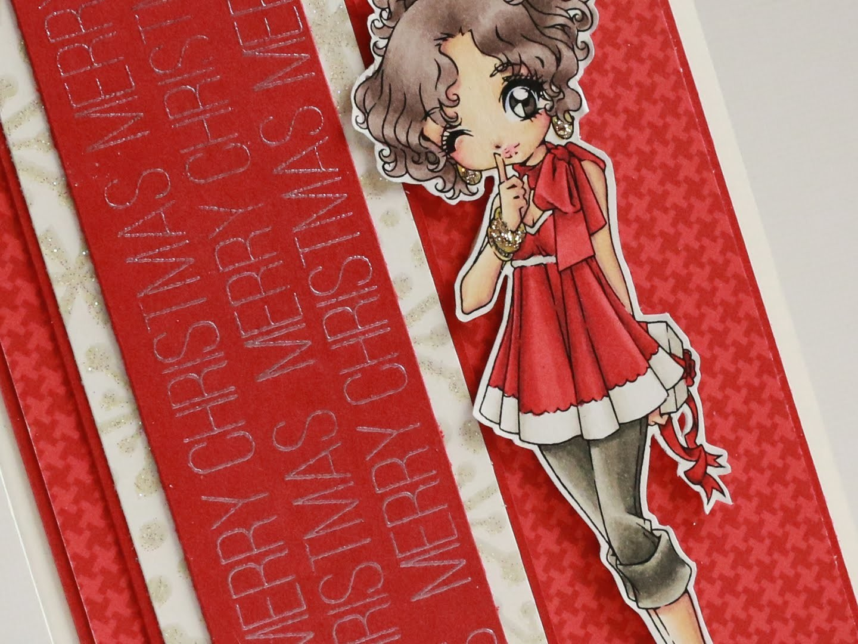 Debbies Surprise - Christmas Card Tutorial