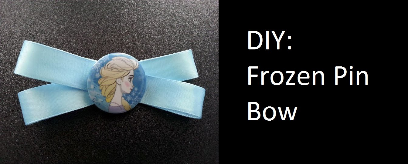 DIY: Frozen Pin Bow