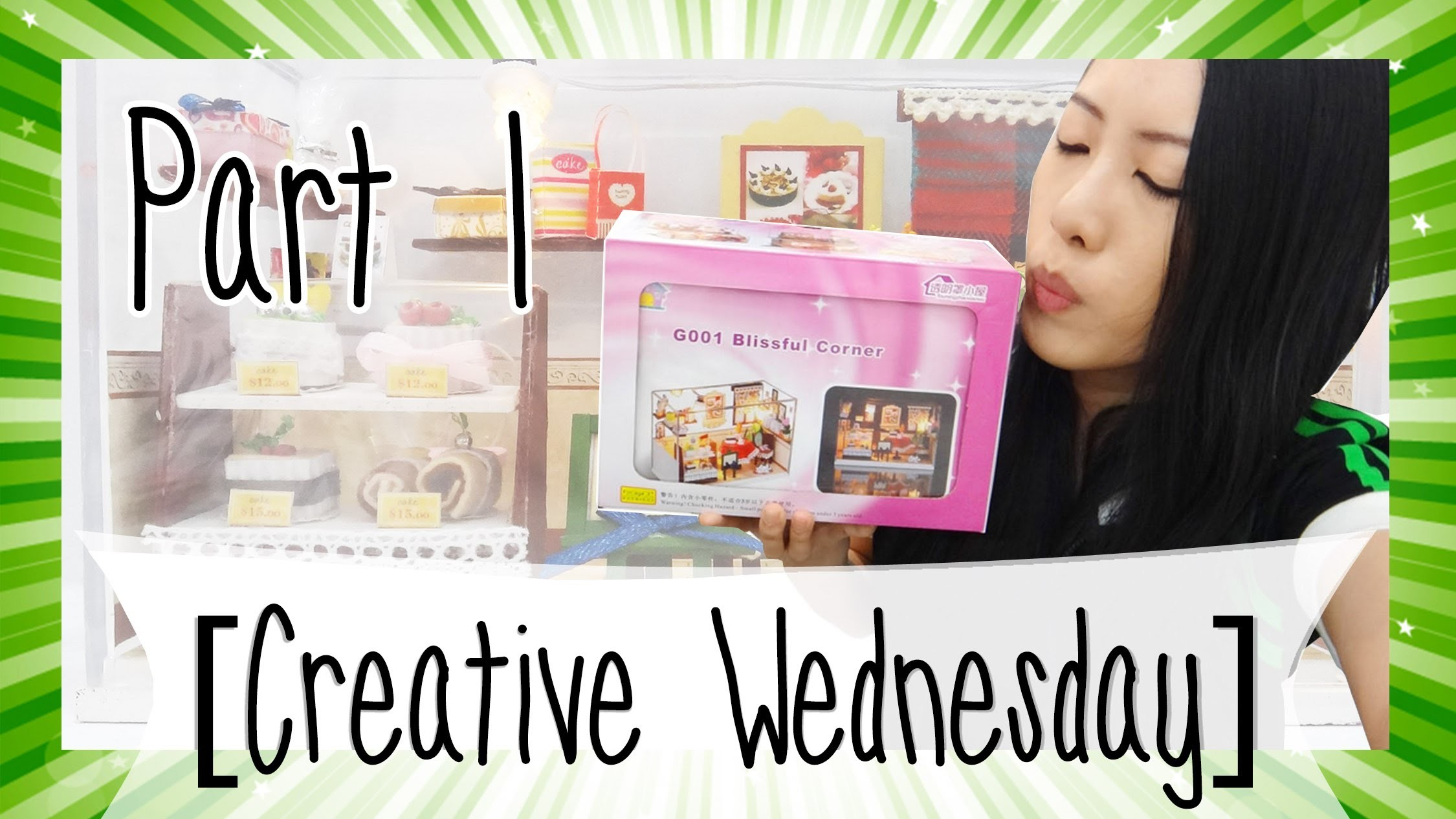 DIY MINIATURE KIT (BLISSFUL CORNER)! 1.2 [CREATIVE WEDNESDAY]