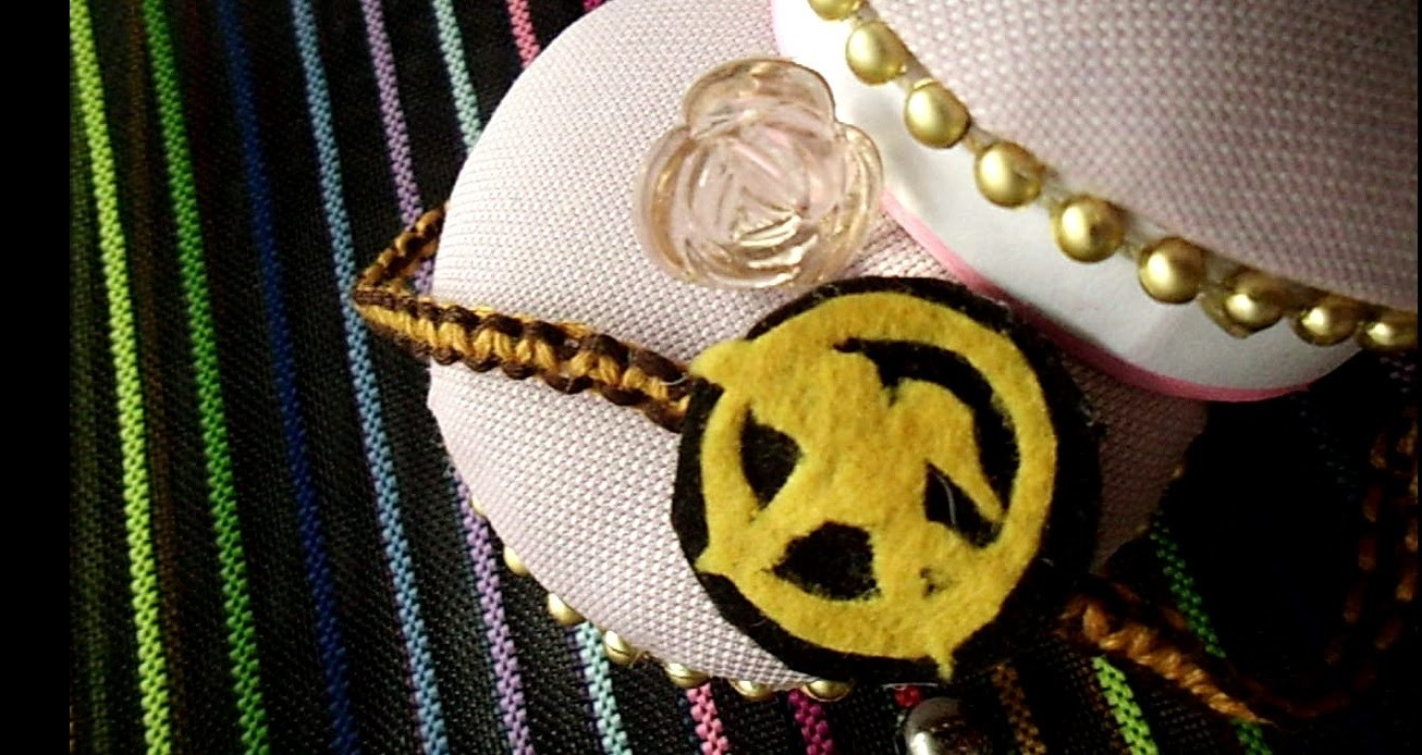 DIY: Mockingjay Bracelet (HUNGER GAMES inspired) | alphabetstory