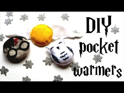 DIY pocket warmers - Harry Potter tutorial