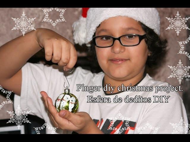 DIY Snowman Christmas Ornamet- Muñeco De Nieve Esfera De Navidad Divercion Con Los Nenes