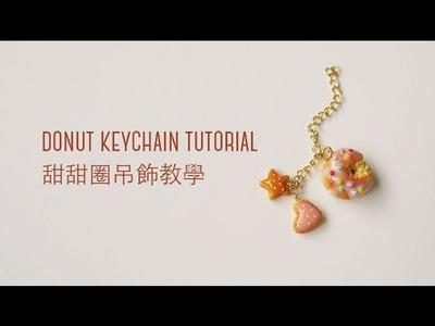 Donut Keychain - Polymer Clay Tutorial