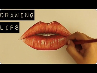 Drawing Lips Tutorial | Pypahs Art