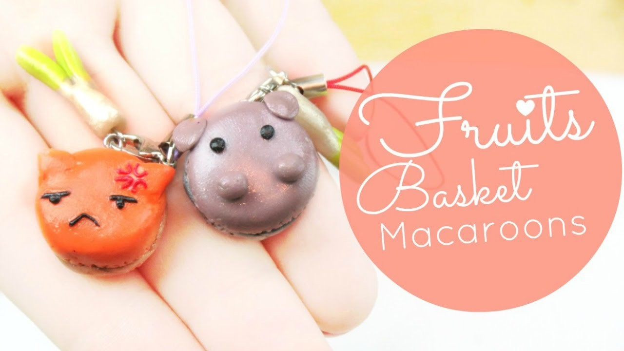 Fruits Basket Macaroon Charm Tutorial | MilkyMisp
