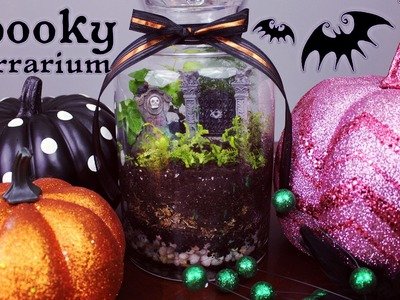 Graveyard Terrarium Tutorial ✟ 31 Days of Halloween ✟