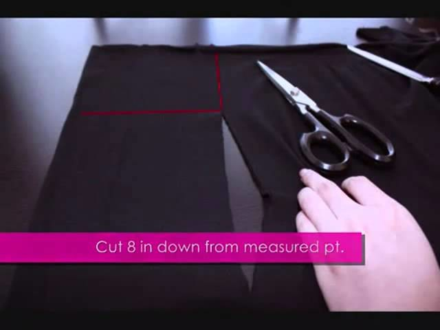 Hairstyle Tutor - DIY Fashion Skirt and Wrap 2014