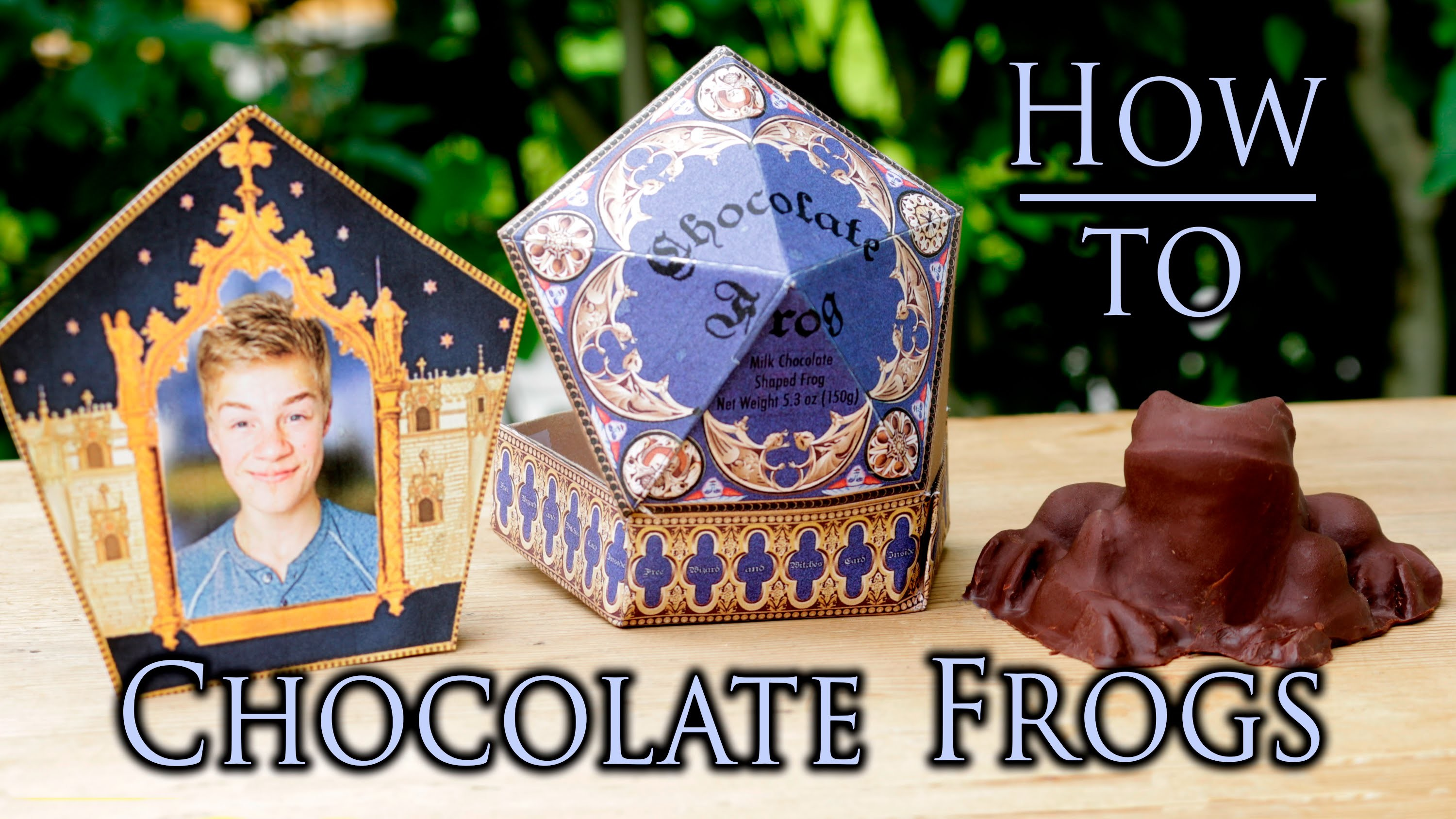 Harry Potter Chocolate Frogs! - Tutorial
