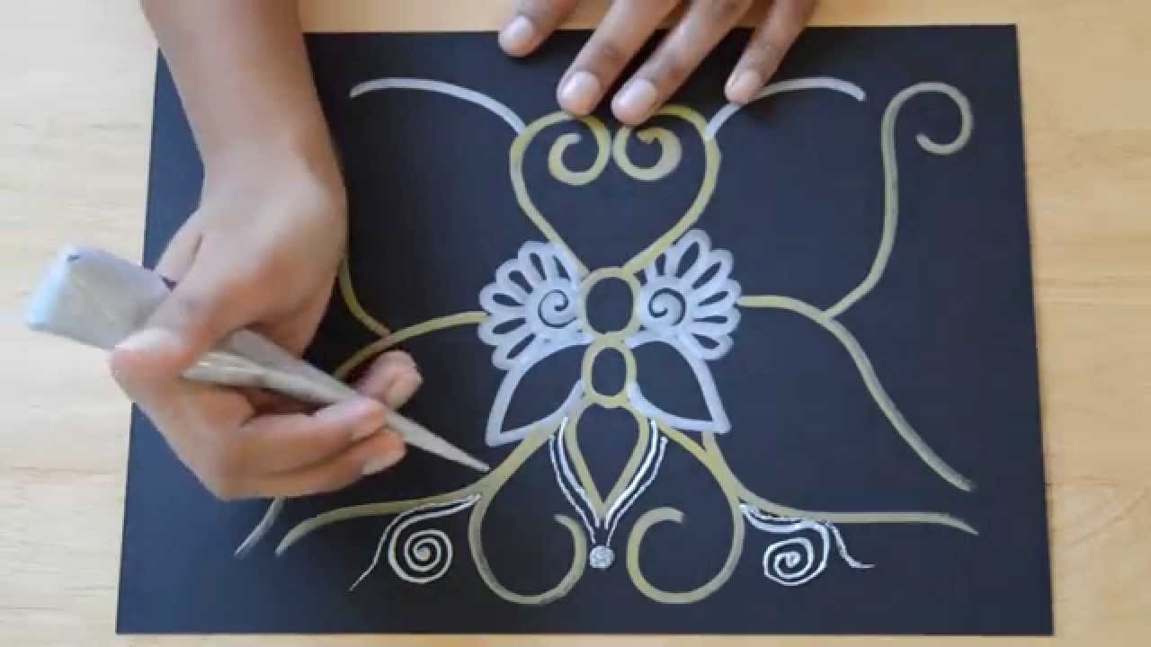 Henna Butterfly Tutorial